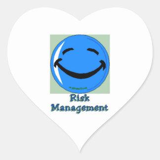 Gestión de riesgos del HF Pegatina En Forma De Corazón