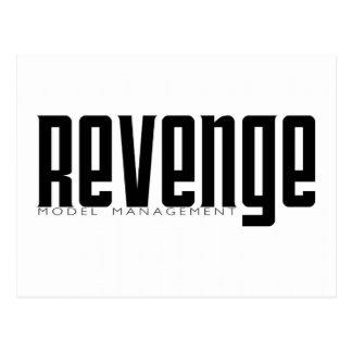 Gestión modelo de la venganza tarjetas postales