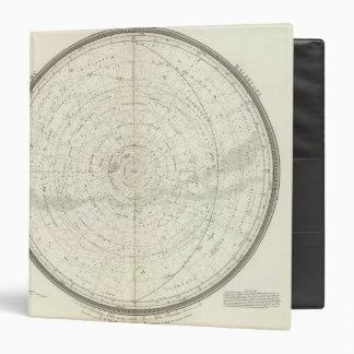 Gestirnte Himmel Sud Vinyl Binders