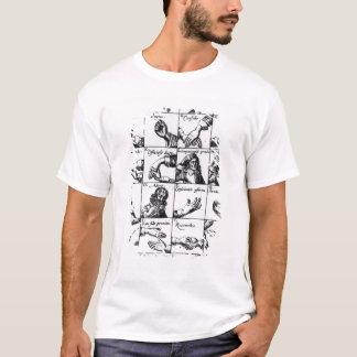 Gestures for miming  John Bulwer's 'Chrilogia T-Shirt