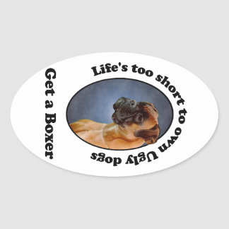 Get a Boxer Stickers