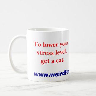 Get a Cat (mug) Coffee Mug