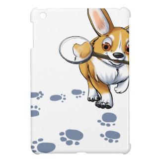 """""""Get a Clue"""" Corgi Case For The iPad Mini"""