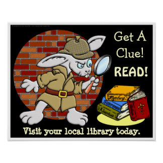 Get A Clue! READ! Poster