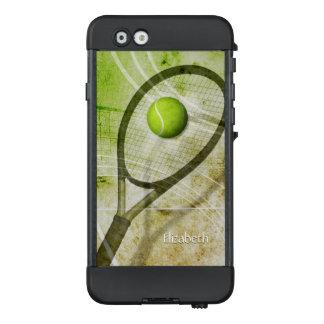 """""""Get a Grip"""" abstract women's tennis LifeProof NÜÜD iPhone 6 Case"""