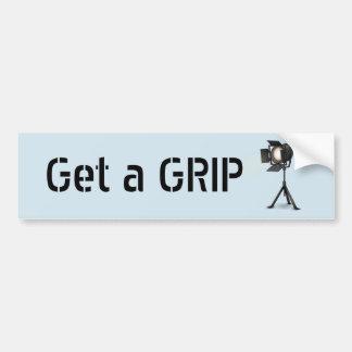 Get a Grip Bumper Sticker