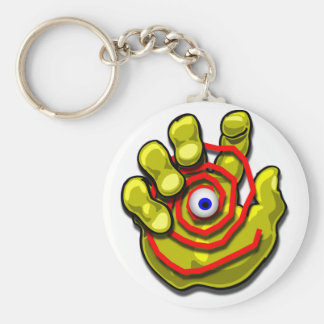 GET A GRIP Magnets and Buttons Basic Round Button Keychain