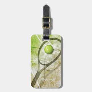 Get a Grip women's tennis Luggage Tag