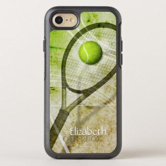 Get a Grip women's tennis OtterBox Symmetry iPhone 8/7 Case
