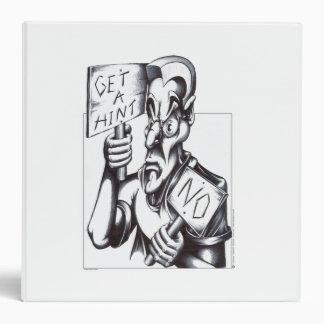 Get a Hint - NO! Vinyl Binders