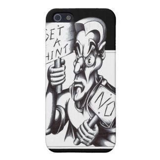 Get a Hint ... No! iPhone 5 Cover