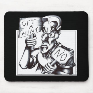Get a Hint - NO! Mouse Pads