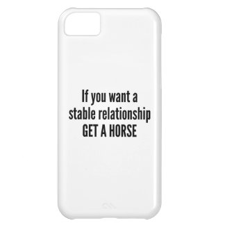 Get A Horse iPhone 5C Cover