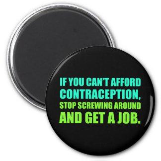 Get A Job 2 Inch Round Magnet