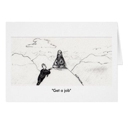 """Get a job"" card"