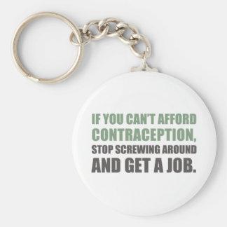 Get A Job Keychain