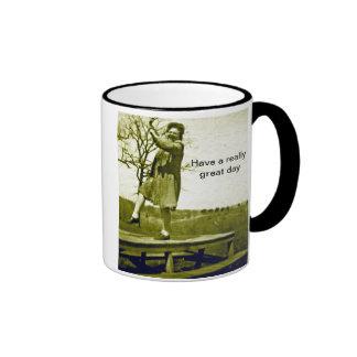 Get a Kick out of Mornings Big Mug