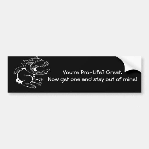 Get A Life Car Bumper Sticker