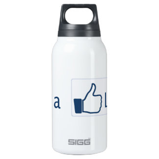 Get a Life Insulated Water Bottle