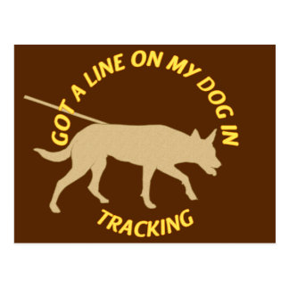 Get a Line on Tracking Postcard