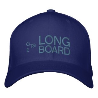 Get a Longboard Embroidered Hat Carolina Blue