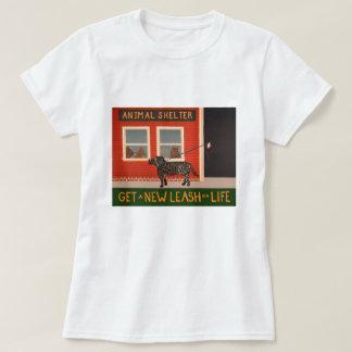 Get a New Leash on Life-T-shirt Tee Shirt
