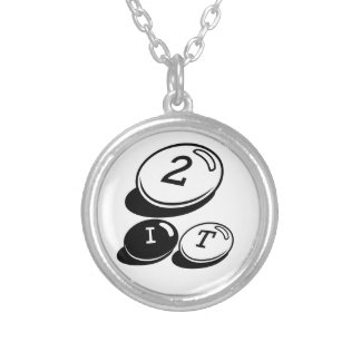 Get A ROUND 2 IT!!! Round Pendant Necklace