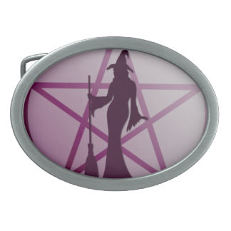 Get a taste of religion. Lick a Witch! Belt Buckle