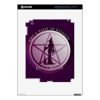 Get a taste of religion. Lick a Witch! iPad 3 Decals