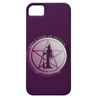 Get a taste of religion, lick a Witch iphone 5 iPhone SE/5/5s Case