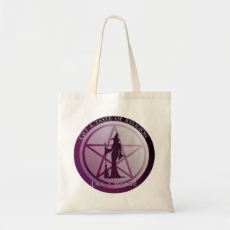 Get a taste of religion,lick a Witch tote bag
