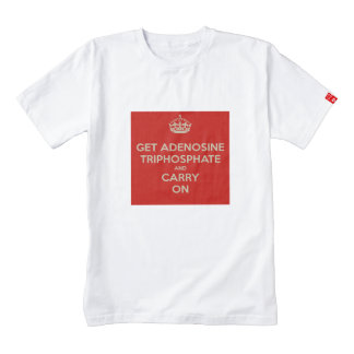 Get Adenosine Triphosphate and Carry On Zazzle HEART T-Shirt
