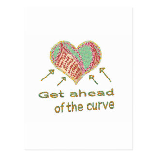 Get ahead of the curve - Management Jargon Postcard