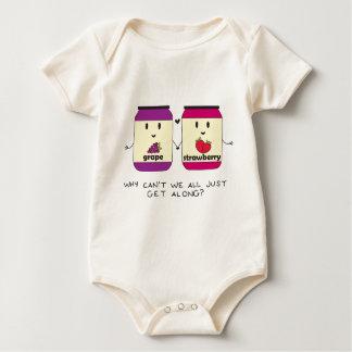 Get Along Baby Bodysuit