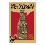 """Get Along"" Political Poster"