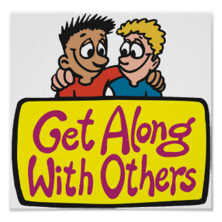 Get Along With Others Poster