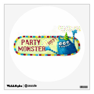 Get along with Party Monster Room Decal
