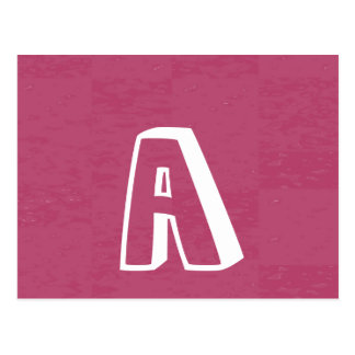 Get an A AA AAA and Get a Gift from MOMMY Postcard