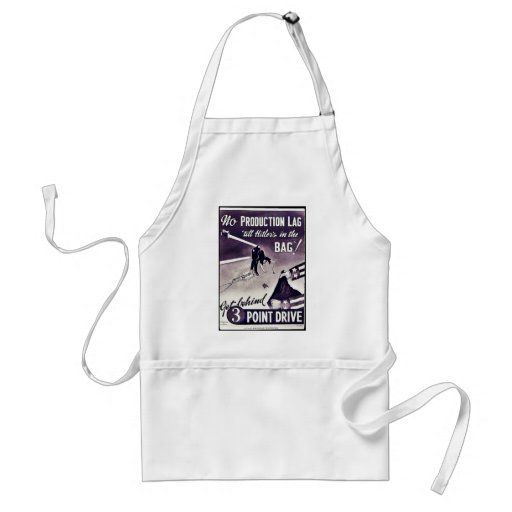Get Behind 3 Point Drive Adult Apron