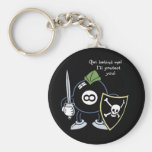 Get Behind the 8-Ball! Keychain