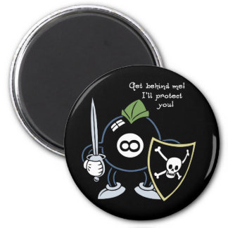 Get Behind the 8-Ball! Magnet