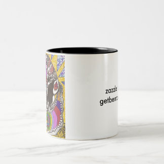GET BENT! - Diamond Head Two-Tone Coffee Mug