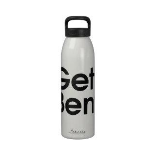 Get Bent Drinking Bottles