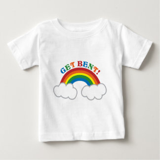 GET BENT! with cute rainbow Baby T-Shirt