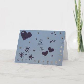 Get Better - Mom - Scrapbook 1 - Seasons Card