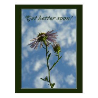 Get better soon postcard