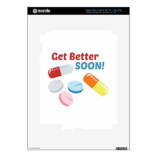 Get Better Soon iPad 3 Skin