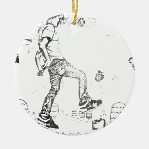 get big ceramic ornament