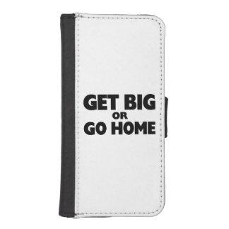 Get Big Or Go Home iPhone SE/5/5s Wallet