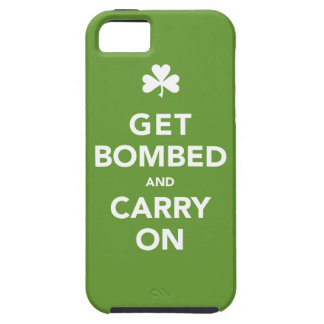 Get Bombed & Carry On St. Pattys Day Phone Cover